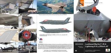Dutch Decal Lockheed Martin F-35A 1:32