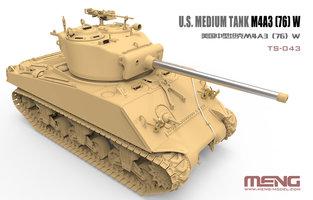 MENG U.S.Medium Tank M4A3 (76)W 1:35