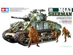 Tamiya M4A3 Sherman 105mm Howitzer 1:35