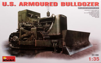 Miniart  U.S Armoured Bulldozer 1:35