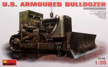 Miniart  U.S Armoured Bulldozer 1:35