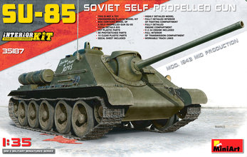 Miniart SU-85 Mod 1943 Mid Production 1:35