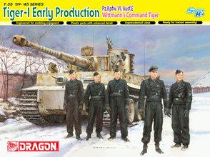 Dragon  Tiger-1 Early Production Pz.Kpfw.VI,Ausf.E Wittmann's Command Tiger  1:35
