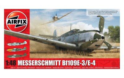 Airfix Messerschmitt Bf.109E-3/E-4  1:48