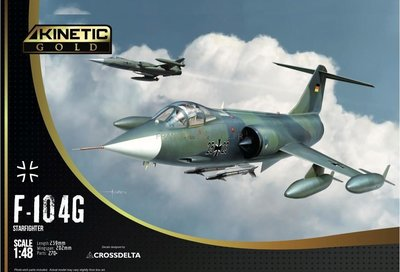 Kinetic F-104G Luftwaffe/Navy  1:48