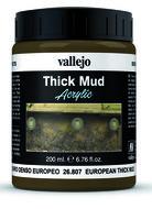 Vallejo European Thick Mud 26807